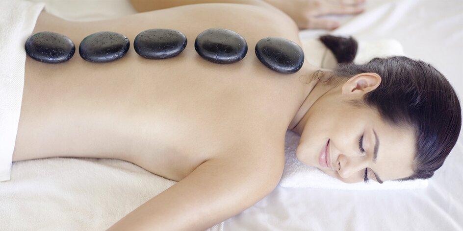 Masáž s lávovými kameny dle výběru