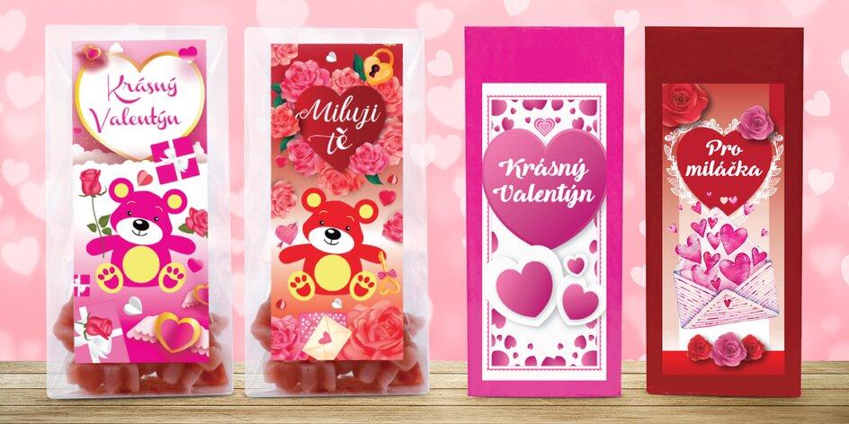 Valentýnské Medvídkové a sypané čaje