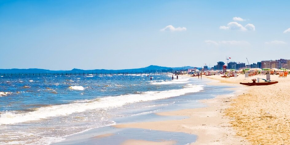 Hurá na italskou pláž: 7 nocí v Rimini s polopenzí