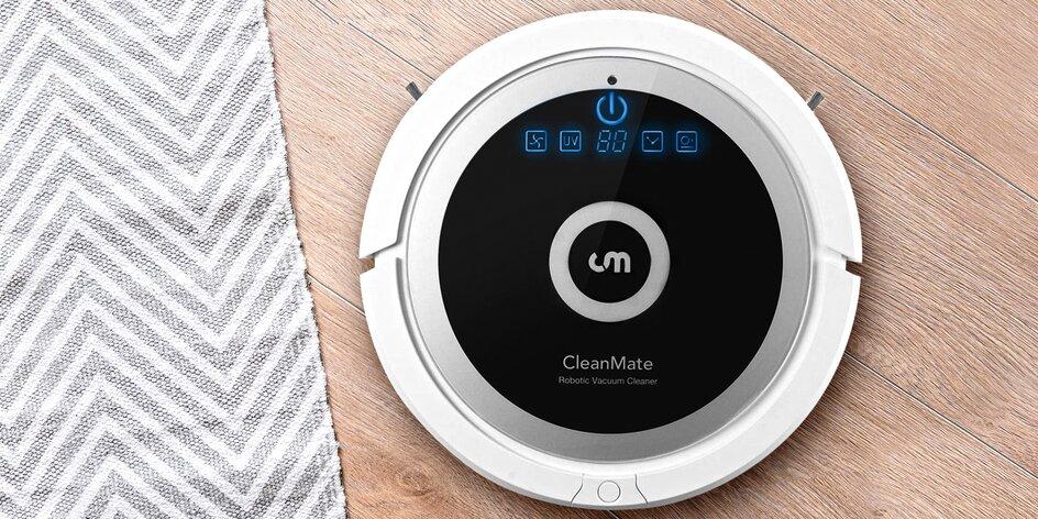 Robotický vysavač CleanMate QQ6 s dokovací stanicí