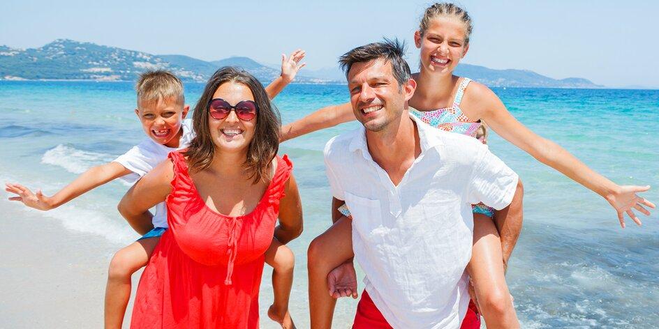 4* dovolená v Albánii pro celou rodinu
