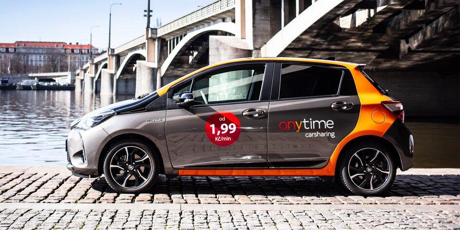 Anytime Carsharing: půjčení auta na 50 minut