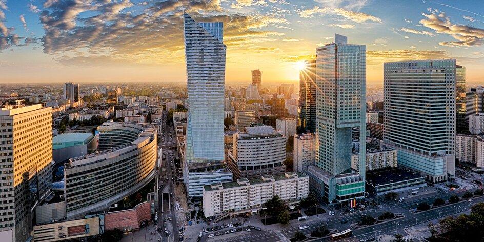 Pobyt ve Varšavě pro 2–4 osoby v moderním apartmá