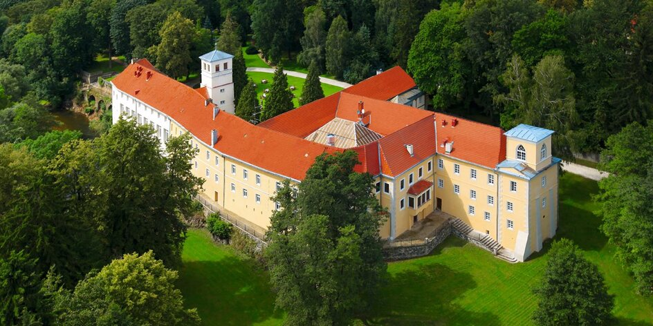Zámecký pobyt v Polsku s wellness a polopenzí
