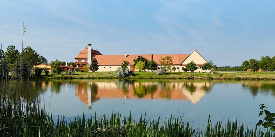 Léto v Safari resortu na jihu Čech až pro 6 osob