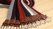 Elastické pletené opasky pro pány i dámy