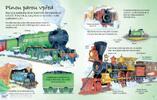 Encyklopedie s okénky: Jedinečný svět vlaků