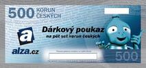 Dárkový poukaz na Alza.cz: 500 nebo 1 000 Kč