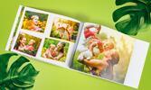 Fotokniha s pevnou vazbou formátu A4