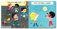 Zábavné posuvné a pohyblivé knihy pro nejmenší