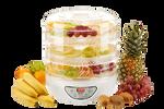5patrová sušička ECG na ovoce, houby a další potraviny
