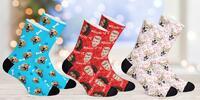 PupSocks: ponožky s fotkou psa, kočky nebo manžela