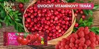 100% ovocné a zeleninové tyčinky české výroby