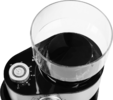 Elektrický mlýnek na kávu, napěňovače mléka i kávovar