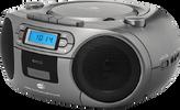 Rádio, kazeťák a CD přehrávač ECG s tunerem DAB+
