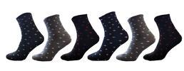 6 párů dámských ponožek