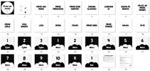 Milníkové karty - první rok života (černobílá)