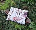 Pohankový polštářek s levandulí - růžové lapače snů