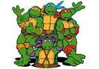 Akční svět Želvy Ninja – figurky, motorky i dětský kostým