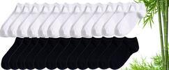 16 párů kotníčkových ponožek s bambusovým vláknem