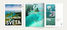 Velká fotokniha z fotek z vaší dovolené