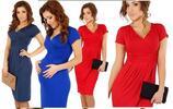 Elegantní letní šaty ve čtyřech barvách