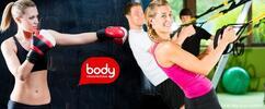 10 skupinových lekcí + analýza složení těla