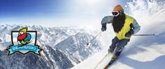 Humorné lyžařské a snowboardové masky