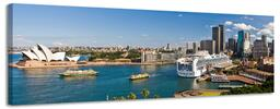 Panoramatické obrazy nejznámějších měst světa