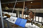 Vstup do leteckého muzea Metoděje Vlacha
