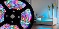 Svítící LED pásky pro oživení bytu či domu
