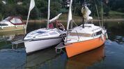 Pronájem jachty na Orlíku až pro 4 námořníky