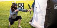Půl dne zábavy – paintball a archery game