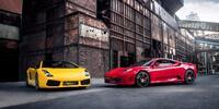 Jízda ve Ferrari F430 nebo Lamborghini Gallardo