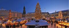 Lodí za nákupy do adventních Drážďan
