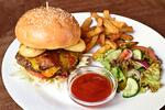 Burger menu dle výběru v Bohemia Bagel