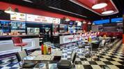 Burgermenu ve stylovém BBQ Smokehouse