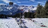 Zima v italské Paganelle včetně skipasu na 6 dní