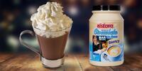 Lahodný italský nápoj s příchutí bílé čokolády