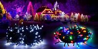 Vánoční světýlka pro vnitřní i venkovní použití