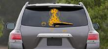 Zábavná samolepka zvířátka na auto a stěrač