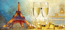 Silvestr v Paříži vč. ubytování na 1 noc a snídaně