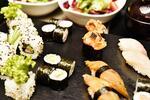 S citem pro detail: Japonské sushi menu pro 2