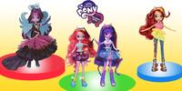 Panenky My Little Ponny Equestria Girls