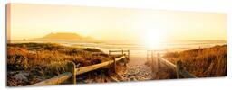 Nádherné panoramatické obrazy na plátně 158x46 cm