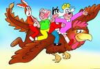 Dětské nerez příbory se Čtyřlístkem či zvířátky