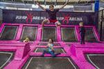 Nová Jump Arena: trampolíny a nafukovací atrakce