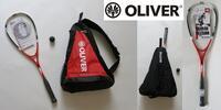 Squashový set OLIVER: raketa, batoh a míček