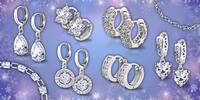 Nádherné náušnice a náramky La Diamantina
