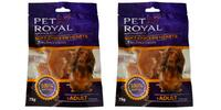 2x kuřecí pamlsky Pet Royal ve tvaru srdíček